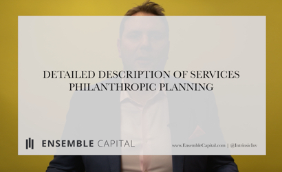 Detailed Description of our Services - Philanthropic Planning Thumbnail